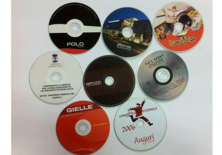 Stampe su CD e Vinili.